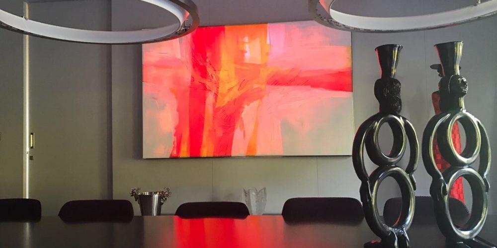 17: Lichtbild im Business-Raum