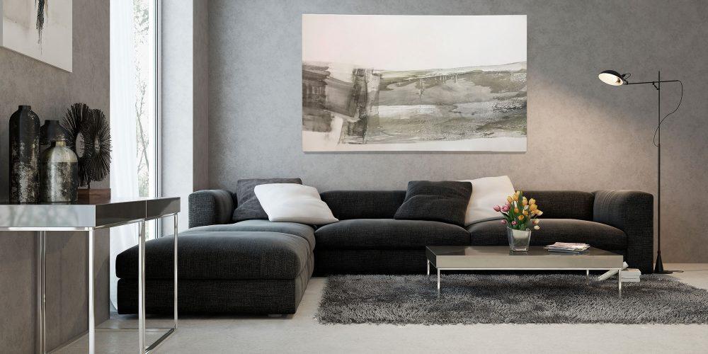 4: Bild im Wohnzimmer